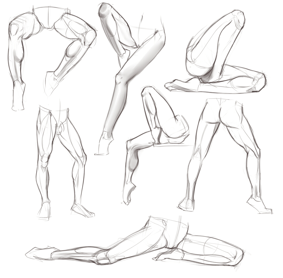 legs 1 ✤ || CHARACTER DESIGN REFERENCES | キャラクターデザイン ...