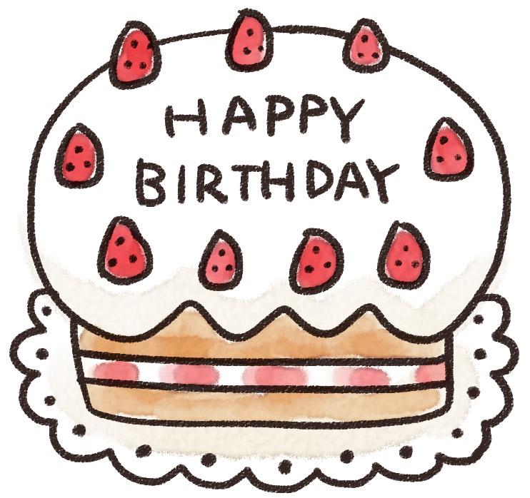 友達誕生日ケーキ