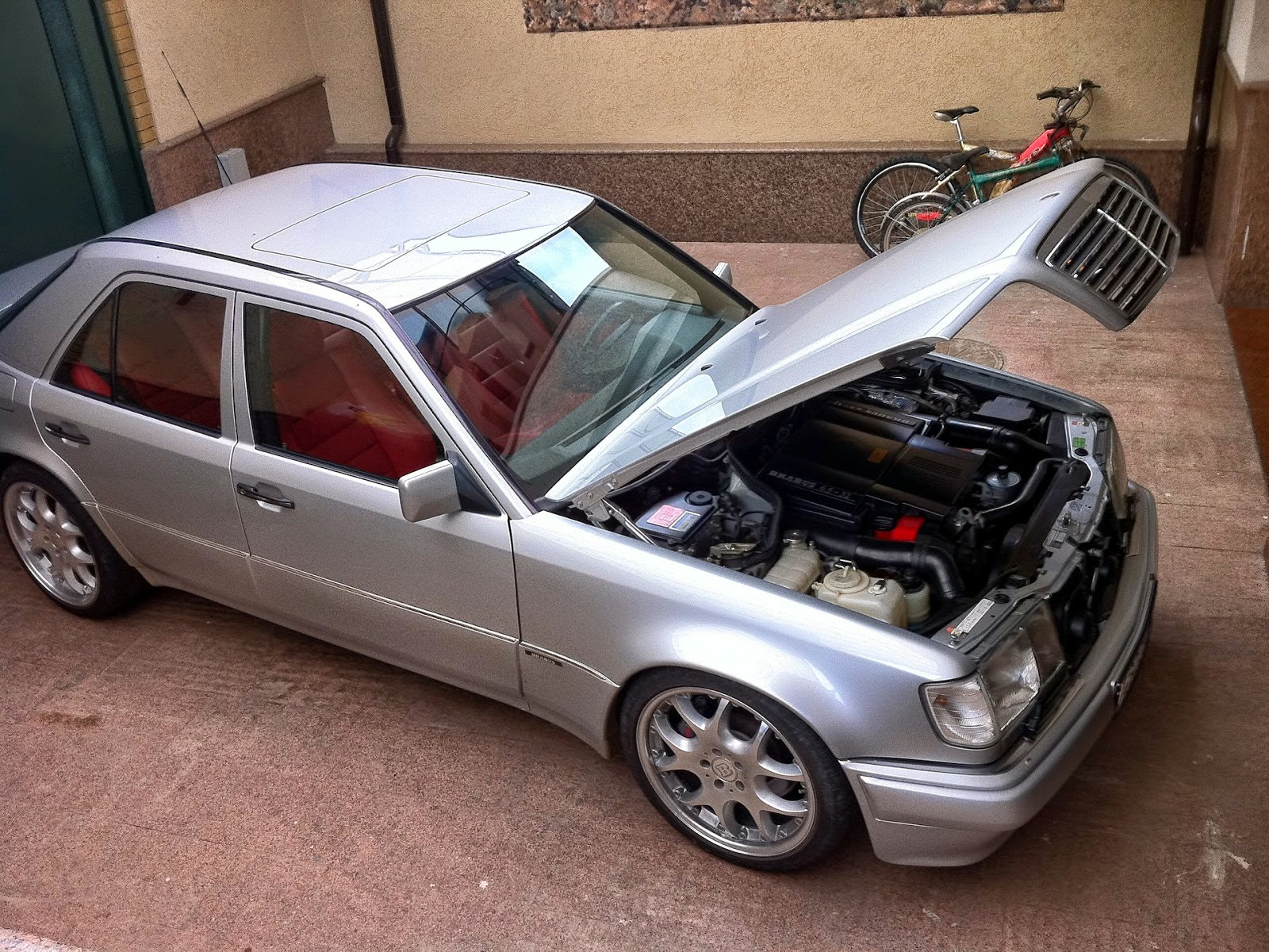 W124 brabus e65 based on mercedes benz e500 benztuning for Mercedes benz w124 tuning