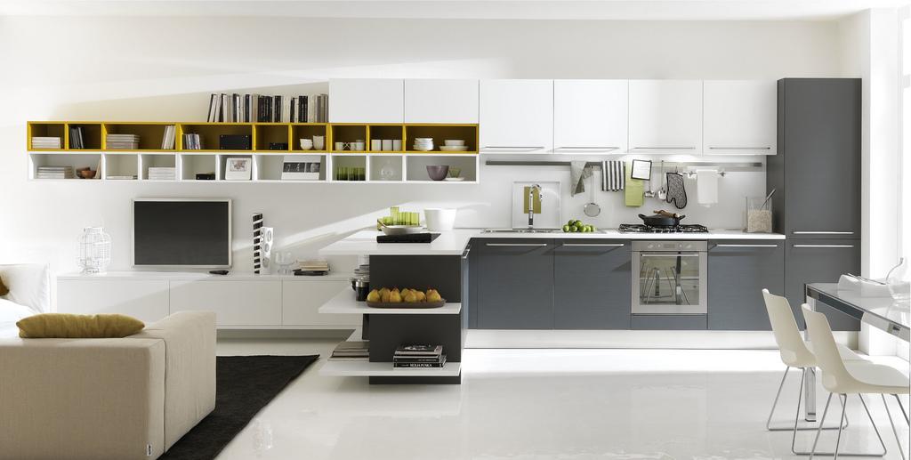 hogares frescos cocinas abiertas modernas y con algunos