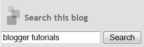 Add Google search box in your blog which search your blog only