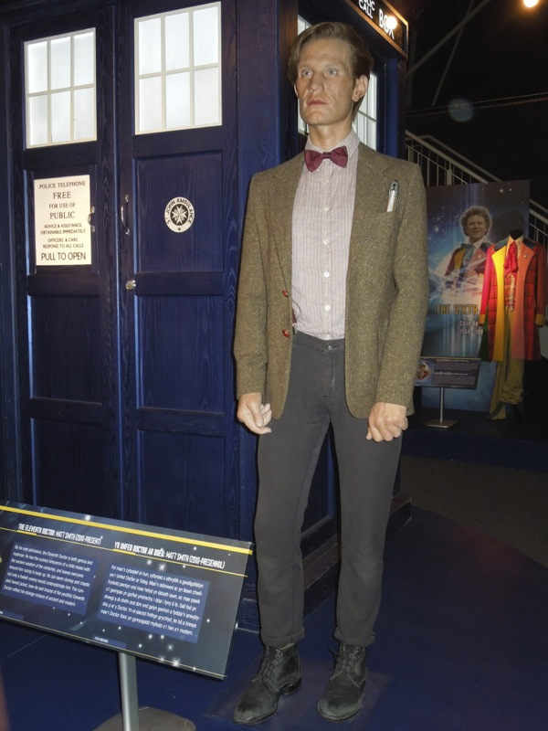 TARDIS 11th Doctor Who waxwork