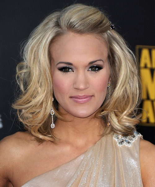 young style model carrie underwood