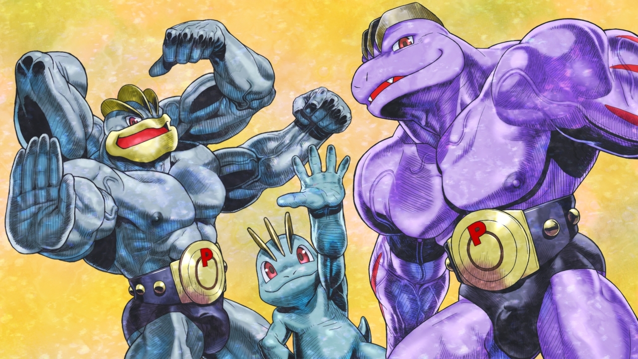 Pokemon machamp mega evolution