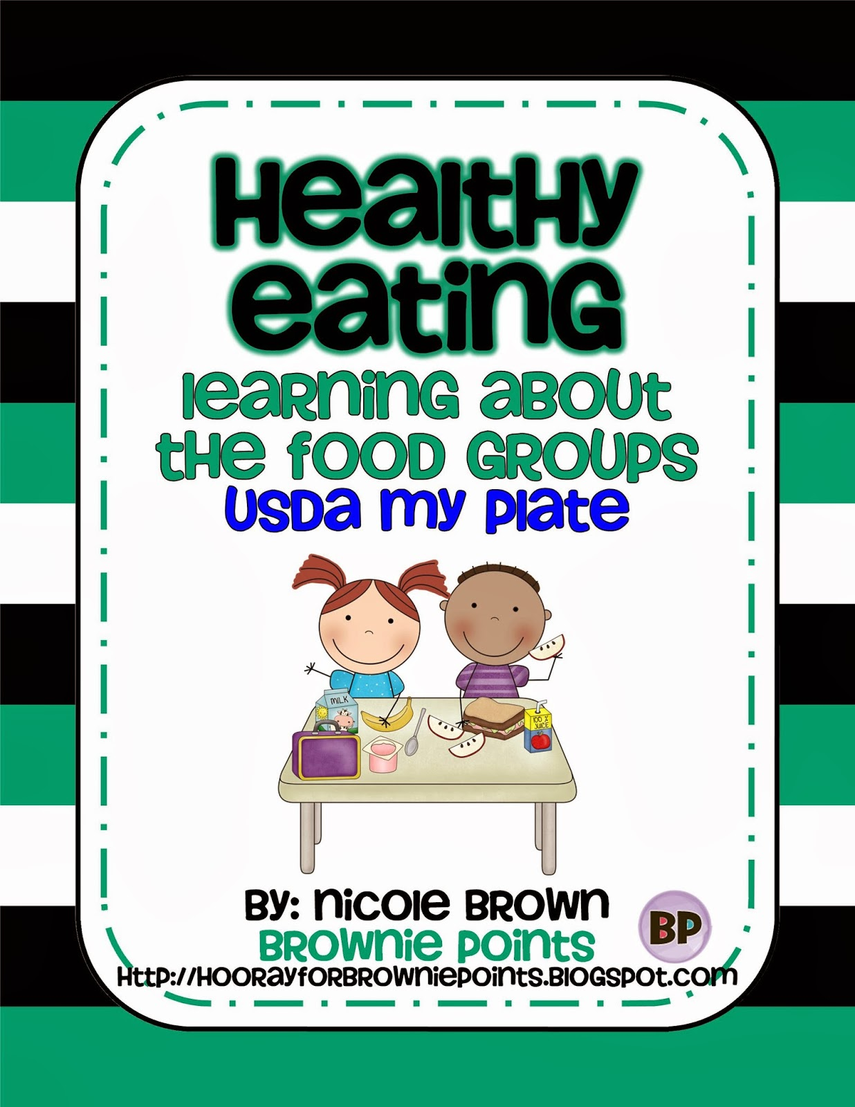 http://www.teacherspayteachers.com/Product/Healthy-Eating-Learning-About-the-Food-Groups-My-Plate-1030686
