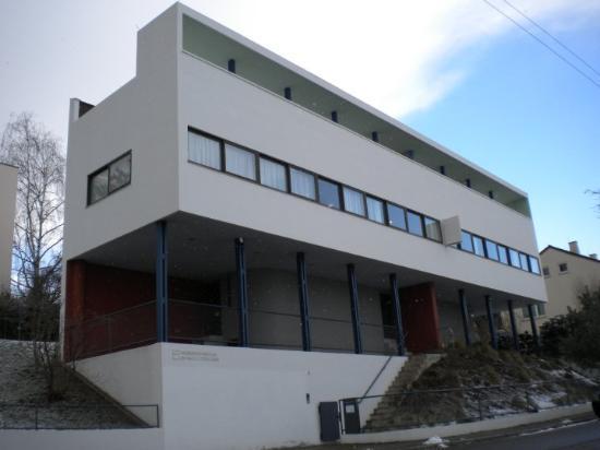 Ipa ii lauren boni doppelhaus le corbusier 1926 7 - Le corbusier casas ...