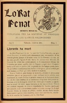 1911 - LO RAT PENAT