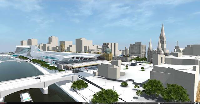 10-Flinders-Street-Station-Design-Competencia por Zaha-Hadid + BVN Architecture-