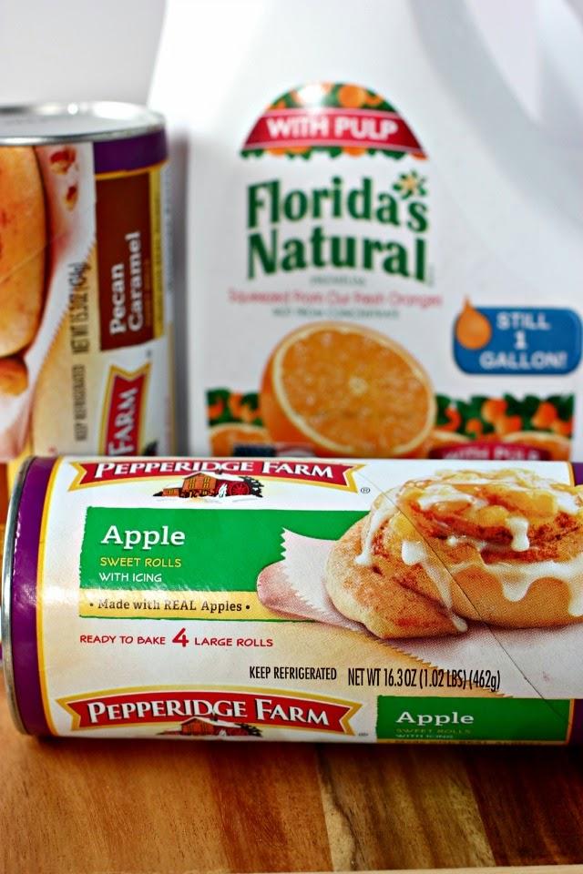 Easy Breakfast Ideas: Apple Sweet Roll Waffles