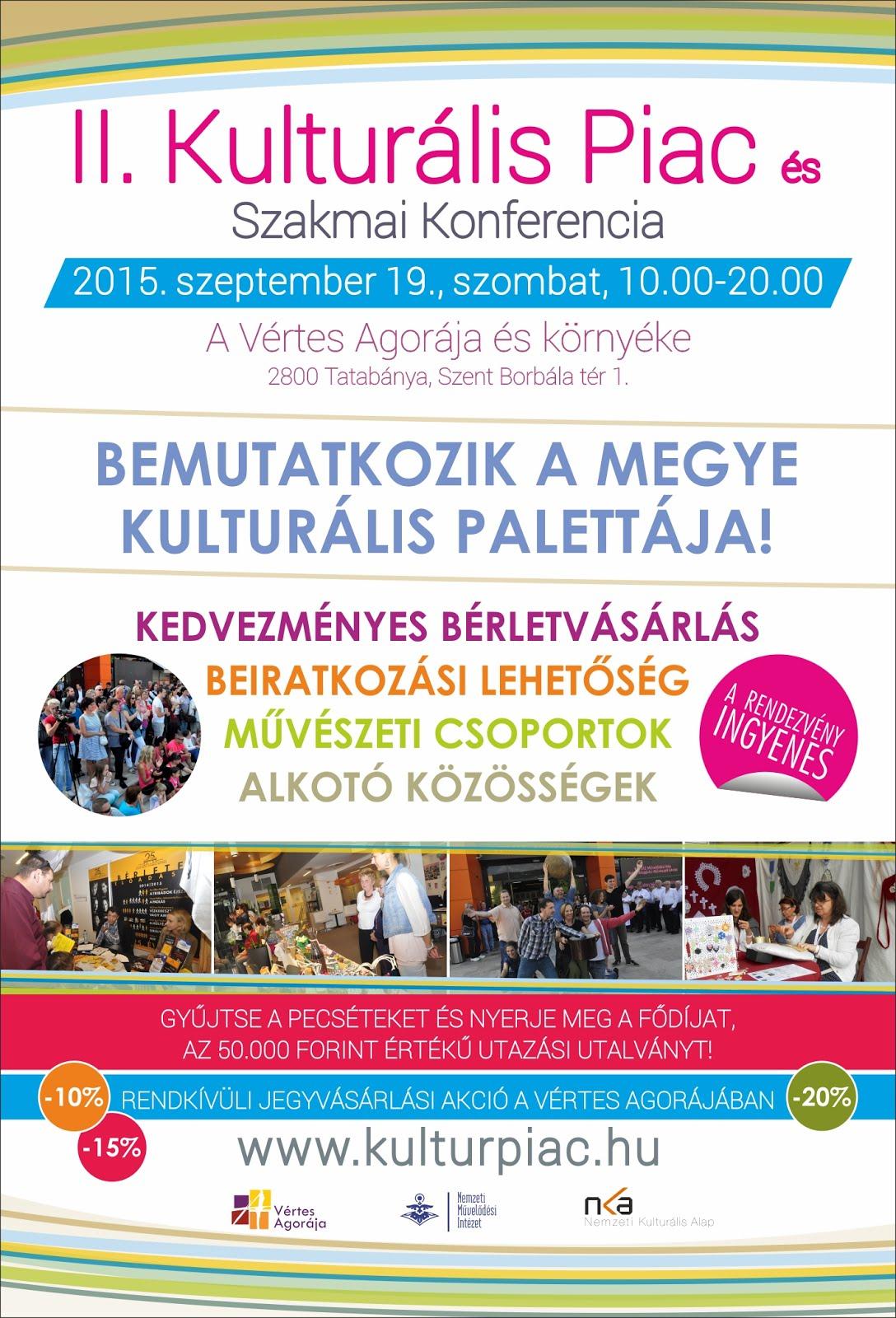 II. Kulturális Piac és Szakmai Konferencia