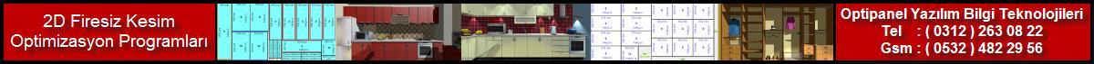 2D Firesiz Panel Kesim Optimizasyon Programları ( 0312 ) 263 08 22 - ( 0532 ) 482 29 56
