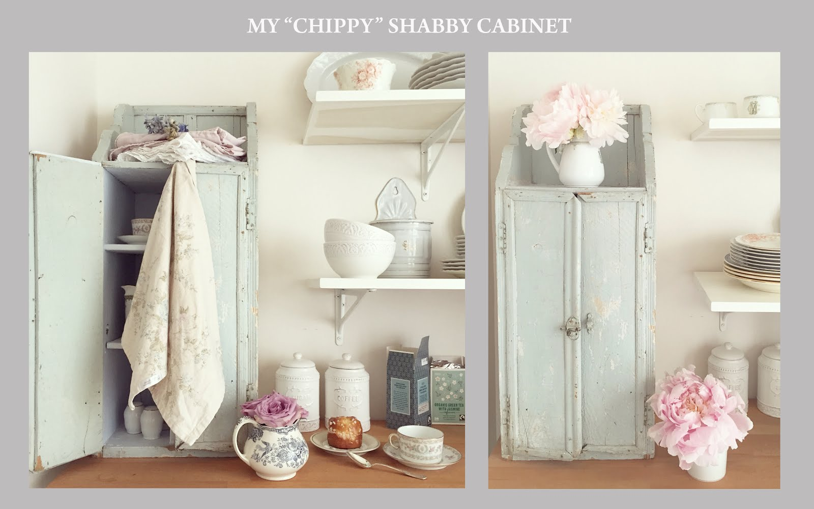 Shabby Whites: Welcome to my little Parisian kitchen!