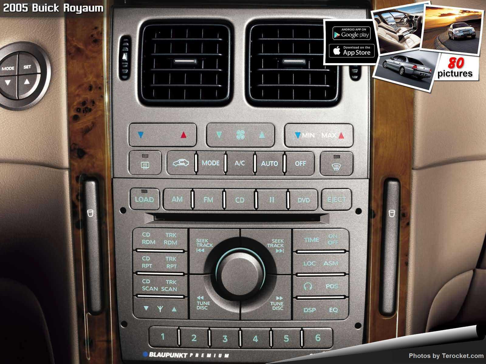 Hình ảnh xe ô tô Buick Royaum 2005 & nội ngoại thất