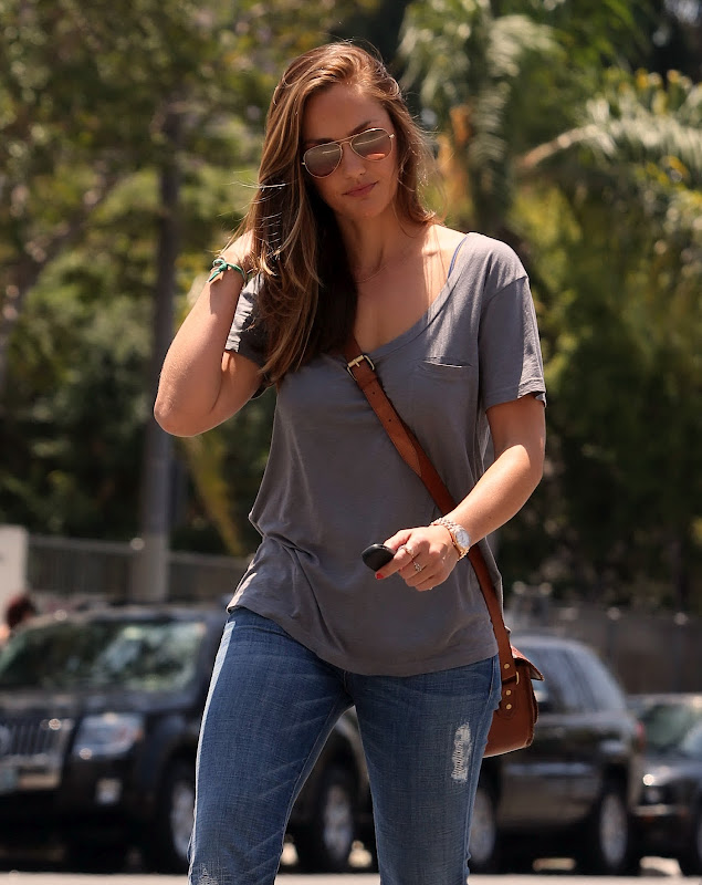 Minka Kelly out in West Hollywood
