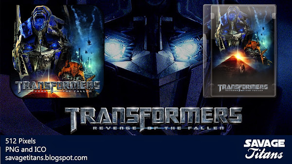 transformers revenge of the fallen 2009 movie folder icon