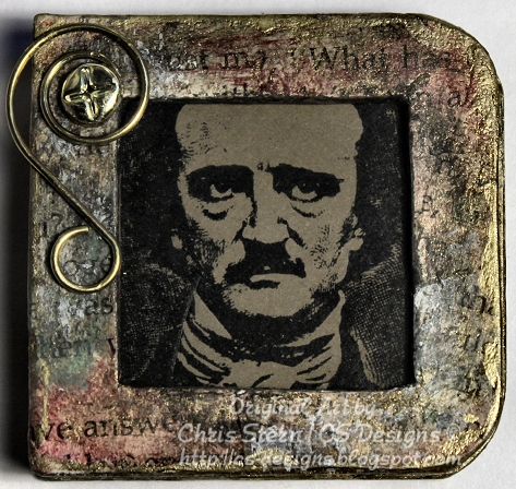 Edgar Allan Poe Altered Child's Board Book