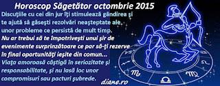 Horoscop Săgetător octombrie 2015