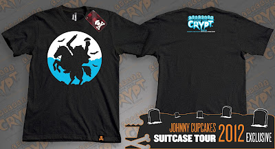 "Johnny Cupcakes 2012 Suitcase Tour ""Cupcakes From The Crypt"" Exclusives - Headless Horseman"