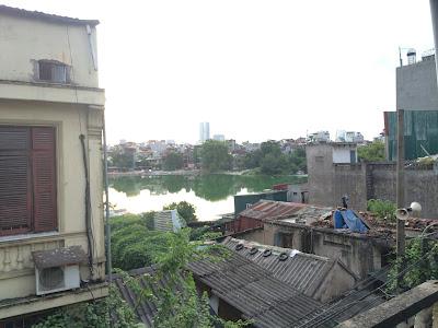 Vị trí căn nhà mặt phố Trần Quý Cáp đối diện Hồ Văn Chương, Đống Đa, HN