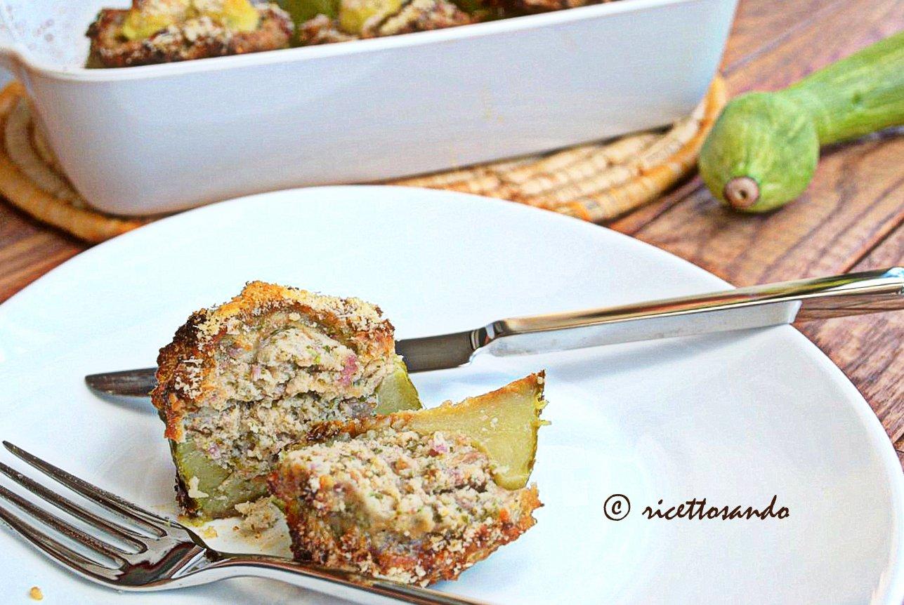 Zucchine ripiene ricetta di verdure farcite cotte a forno
