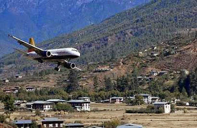 5 Bandara Dengan Landasan Pacu Paling Menyeramkan di Dunia