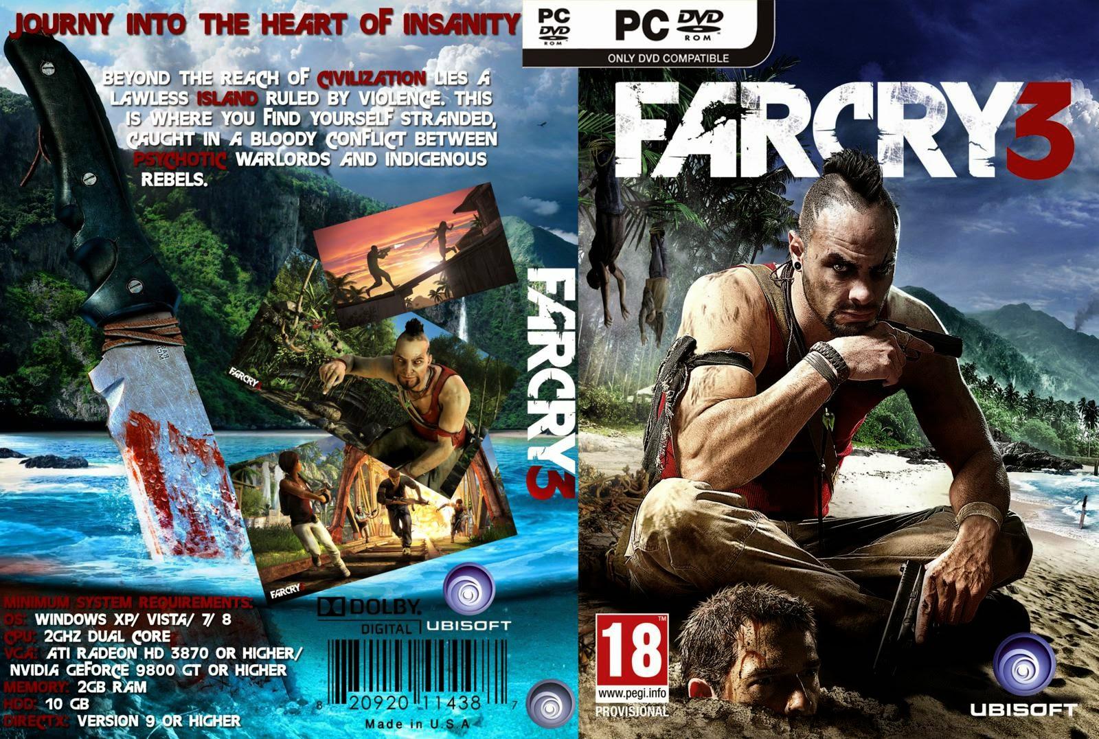 Far Cry 3 pc capa