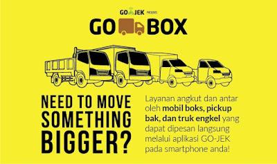 layanan baru go-box dari PT Go-Jek untuk angkut barang, go-box, gobox, go-box dari go-jek, gojek