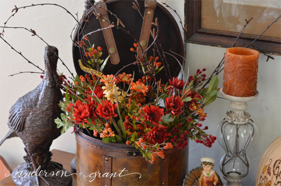 Thanksgiving Display | www.andersonandgrant.com