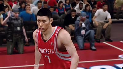 NBA 2K13 Jeremy Lin Cyberface Mod