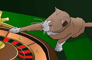 roulette kitten
