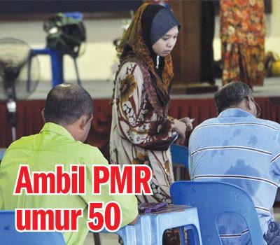 Ambil PMR umur 50
