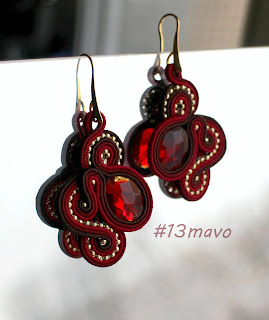 soutache earrings,