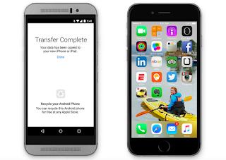 الكشف عن موعد إطلاق تطبيق آبل للانتقال من أندرويد نحو iOS