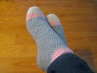 Cocooning socks