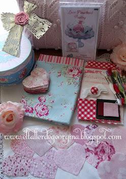 sorteo Rosa en el blog de  Georgina