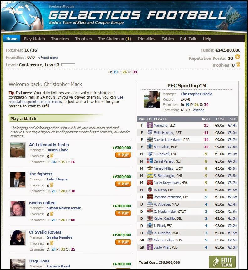 Galacticos Football