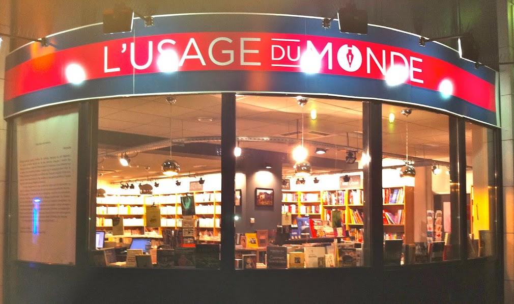 Librairie L'Usage du Monde Paris 17