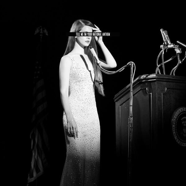 Lana Del Rey - National Anthem (Remixes) - EP Cover