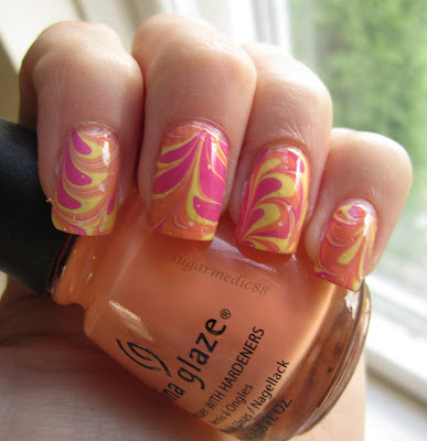 Bright Summer Water Marble