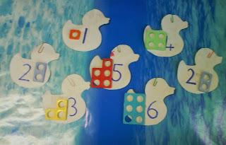 Grammazzle Ferias Numicon Matemáticas Patitos Goma Rubber Ducky Sumas Restas