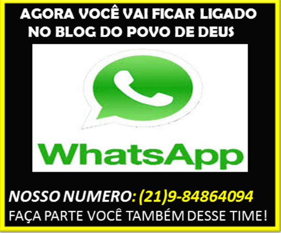 WhatsApp do povo de Deus!