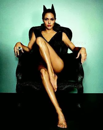 Fetish Inspirations : Angelina Jolie Is Catwoman