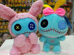 (INSTOCK email me) Bunny & Rag Doll Scrump!