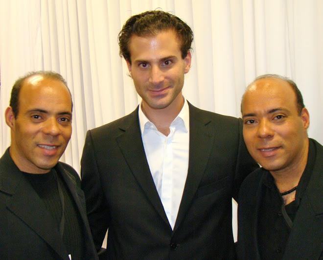 José Saad Duailibi – Diretor Geral da TV Bandeirantes e Gemeos Maquiadores