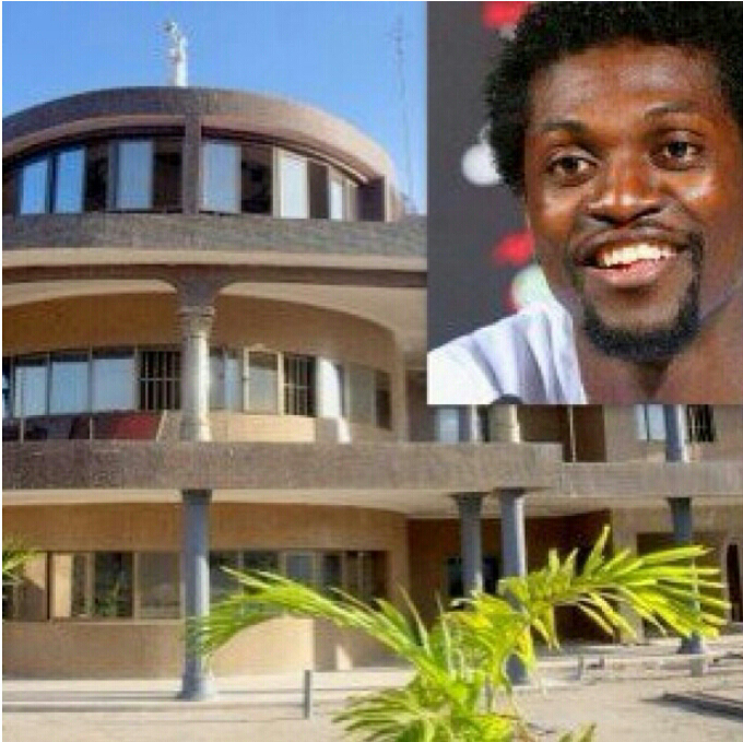 Emmanuel Adebayor Flaunts Mansion House, Cars & Private ... Emmanuel Adebayor House