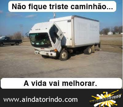 Caminhão triste