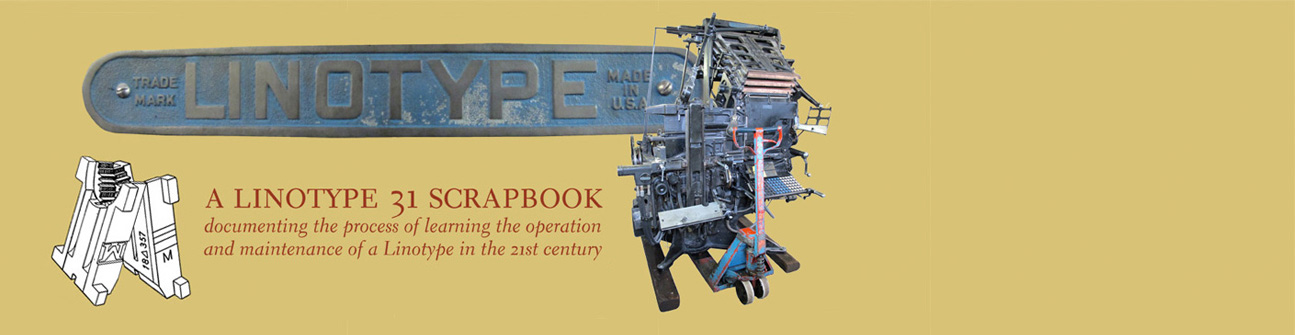 Linotype 31 Scrapbook