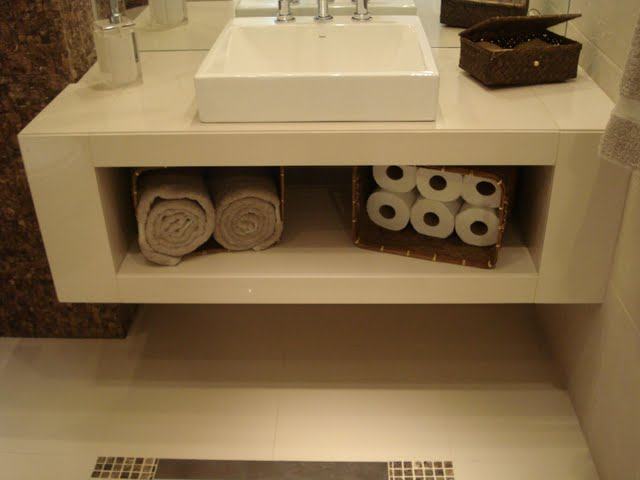 CasinhaQuerida Bancadas de Alvenaria -> Armario Para Banheiro Cassol