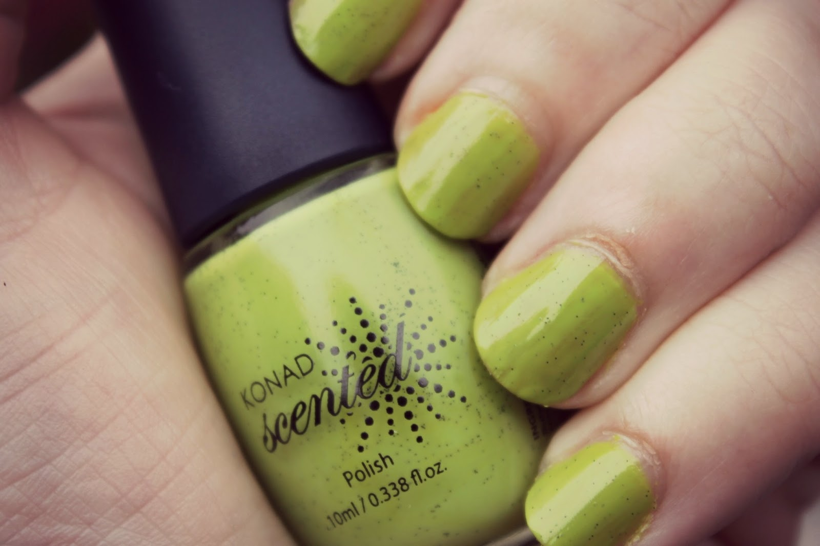 green scented nail polish