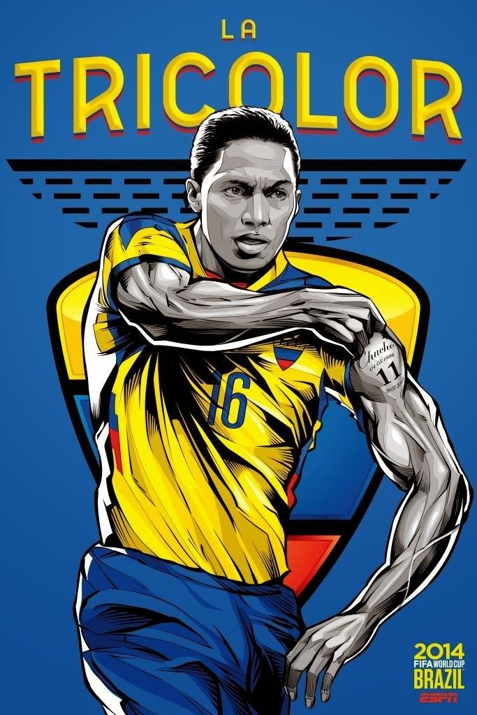 Ecuador Team FIFA 2014